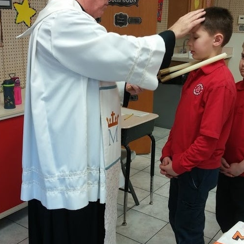 Noonan Elementary Academy - Blessing of the Throats