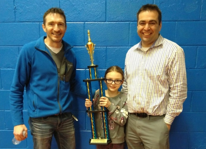 Team Kaplan Wins Noonan Elementary Academy's Family Chess Night