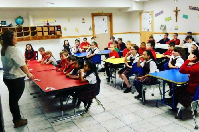 Noonan Elementary Academy Students Learn the 3 R's and Make Paper