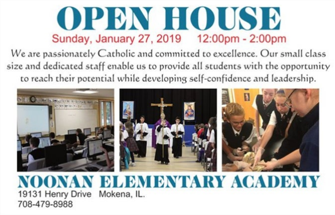 Noonan Elementary Academy to host annual Open House